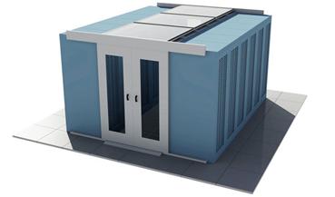 homogeneous cabinets Cold Aisle Containment   Design Options